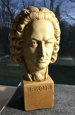 Vintage Bach Bust Statue