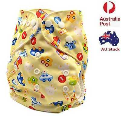Adjustable Reusable Modern Cloth Nappies with Snaps Girly Baby Girl MCN (D148)