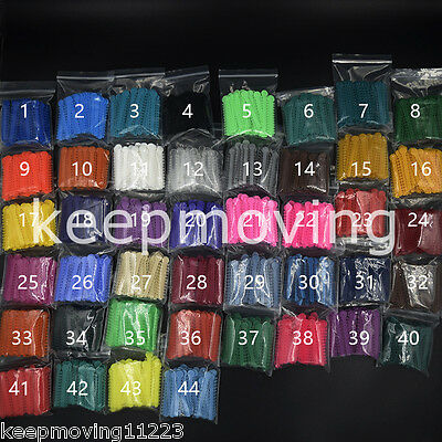 10 Packs 1008 Pcs Dental Orthodontics Elastic Ligature Ties 44 Colors For Chose