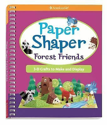 NEW American Girl Paper Shaper Forest Friends: 3-D Crafts Make & Display Book