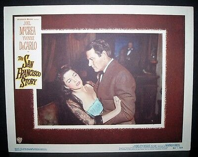 The San Francisco Story  1952 11x14 Original U.S lobby card in Toploader