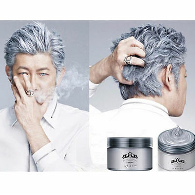 Unisex Silver Wax Professional Hair Pomades