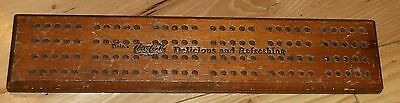 Coke Coca-Cola Cribbage Board And 5 Ink Blotters Advertising