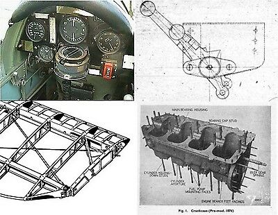 Tiger Moth Detail Photos for Modelers/Restorers 1600+