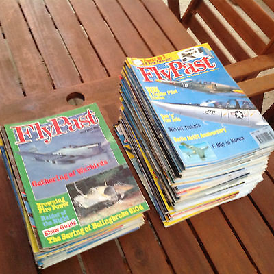 FLYPAST Aircraft Magazines 1983 to 2009