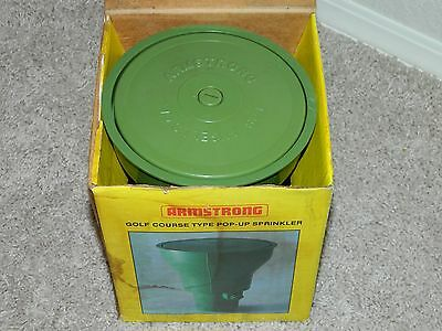 Vintage ARMSTRONG Golf Course Type Pop-Up Sprinkler Model LTG 268 NOS RARE!!
