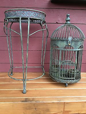 Collectable Beautiful Metal Bird Cage