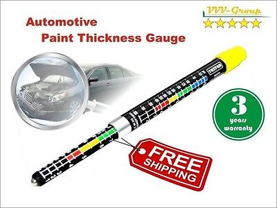 Paint Thickness Tester Meter Gauge, Paint Coating Tester, Car Body Damage With