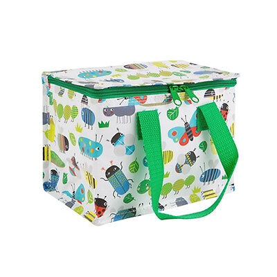 FLORAL INSULATED LUNCH BAG / New Food Storage Tote Plastic Cool Case School
