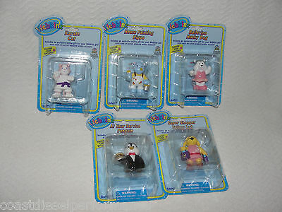 Webkinz PVC Mini Figure Lot of 5 New with Code or Cake Toppers