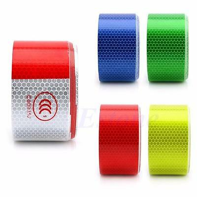Film Warning Safety Conspicuity Adhesive Tape Reflective Sticker Cars