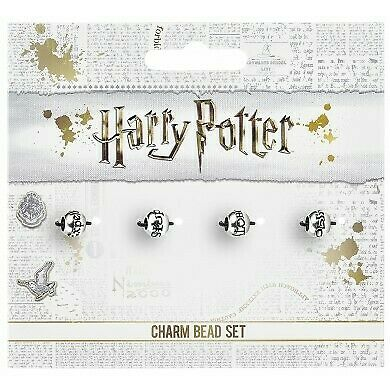 Harry Potter : SPELL BEAD CHARM SET for Slider Bracelets from The Carat Shop