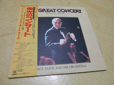 Japan Lp/percy Faith  - Recorded Live In Japan 1974
