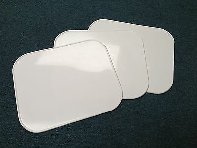 Ama Race White Plastic  Number Boards ,flat Track,gs Cb Kz Xr 750 Sr T140