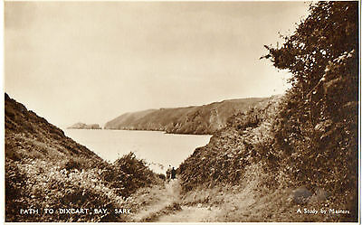 Path to Dixcart Bay,Sark-A Study by Masters