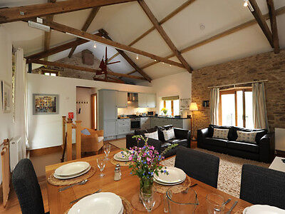 LUXURY Holiday Cottage WI FI, North Devon 5* (Combe Martin) 3 ENSUITE BEDROOMS