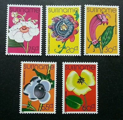 Suriname Flowers 1978 Flora Plant (stamp) MNH