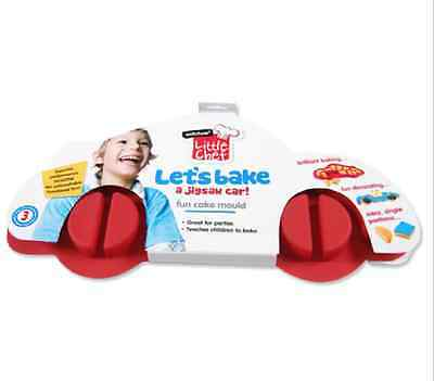 NEW Wiltshire Little Chef Red Car Jigsaw Cake Mould CAKE DECORATING FREE POST