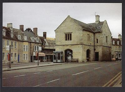 """THE MARKET PLACE, OUNDLE""  Postcard Northamptonshire"