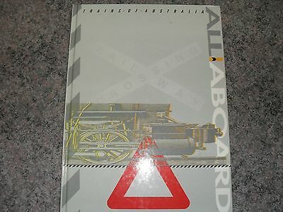 stamp book of australian railways all aboard trains of australia 1993 inc stamps