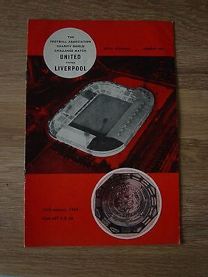 1965 Charity Shield : Manchester United V Liverpool