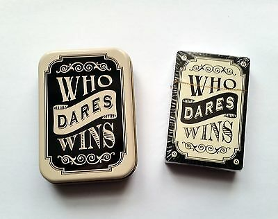 Dapper Chap Playing Cards - Who Dares Wins - Vintage Retro Style