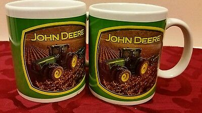 John Deere, Set of Two Coffee Mug/Cup, John Deere  License Product.