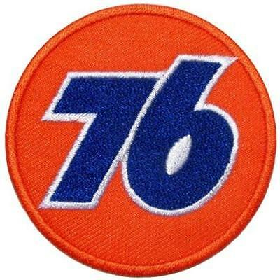 Union 76 Oil Gas Racing F1 Moto gp Nascar Motorcycle car Jacket iron On Patch