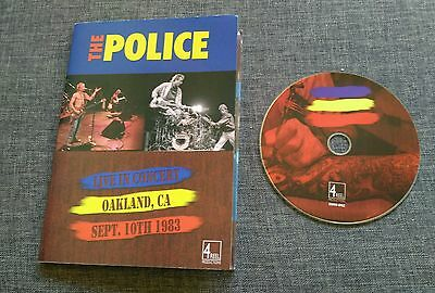 Dvd The Police - Live In Concert - Oakland - September 1983 - Sting - Very Rare