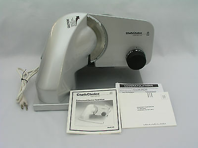 Chef's Choice Int'l Model 640 - Professional Electric Food Slicer - Germany