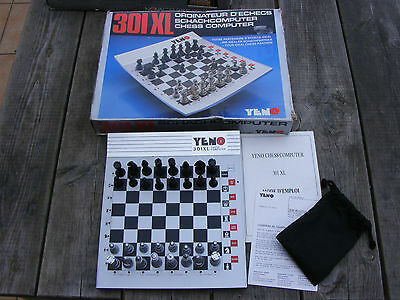 301 XL electronic chess computer by Yeno retro vintage