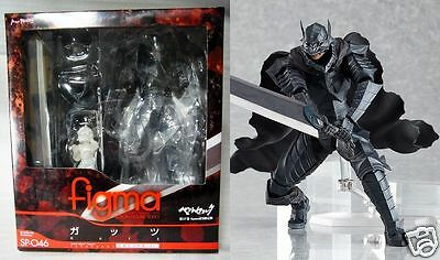 New Limited Figma Guts Berserk Armour Ver w/ Manga VOL 37 post card In Stock F/S