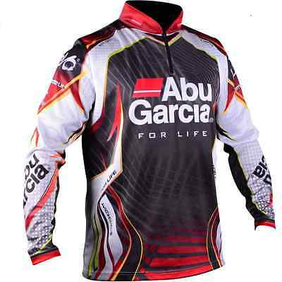 Abu Garcia Pro Tournament Jersey Fishing Shirt New with Tags Choose Yr Own Size!