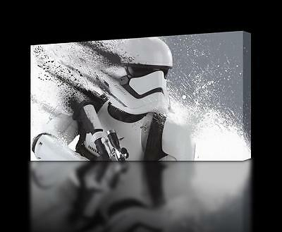 Star Wars Stormtrooper CANVAS PRINT Home Wall Decor Giclee Art Poster CA361
