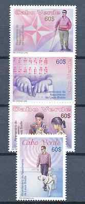 Cabo Verde - 2009 - Louis Braille, Educator of the Blind - 1809-52 / MNH