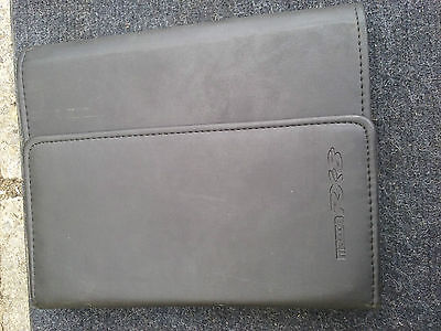 Used Mazda RX8 Owners Manual and Wallet