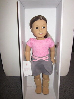 American Girl~Just like you Doll ~ Brown Eyes,Layered Brown Hair and Light Skin