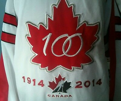 Team Canada Youth 100th anniversary jersey