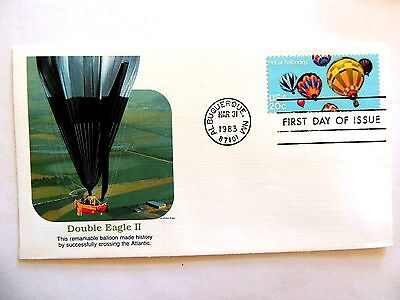 "March 31st, 1983 ""Double Eagle II"" First Day Issue"