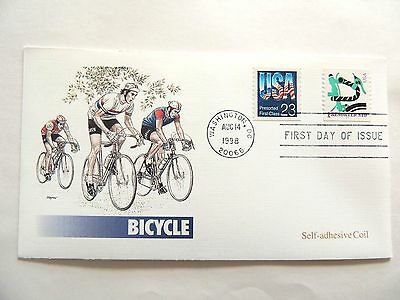 "August 14th, 1998 ""Bicycle"" First Day Issue Lot B"