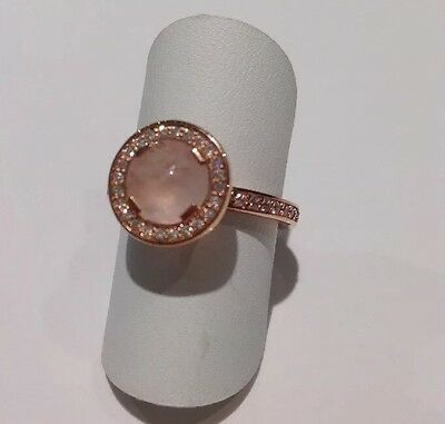 Genuine Brand New Thomas Sabo Rose Gold And CZ Ring Size 54