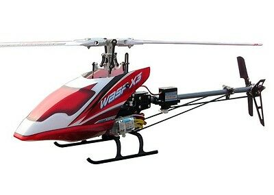 WASP X3V Flybarless 6CH RC Helicopter RTF 2.4GHz