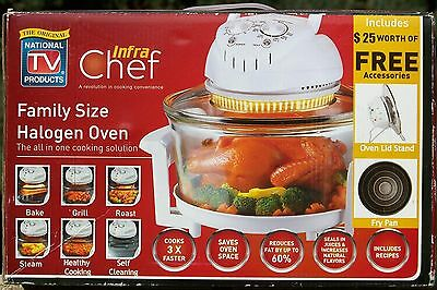 Infra Chef Family Size Halogen Oven Plus Extras model EK0056-UL