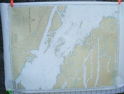 Canada BC Nautical Map Chart #3597 Pulteney Point to Egg Island March 1980