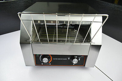 NEW commercial electric conveyor bread bun pizza toaster maker toaster machine