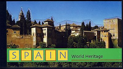 UN NY . 2000 Spain World Heritage . Complete Booklet . Mint Never Hinged