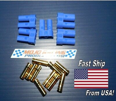 5 Pack  Female EC5  Losi Style Bullet Connector Plugs High Quality Faster Ship!