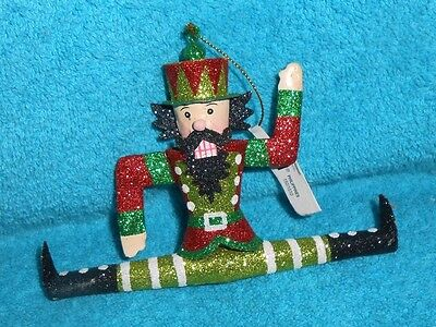 Pier 1 Soldier Nutcracker Christmas Holiday Ornament - NEW