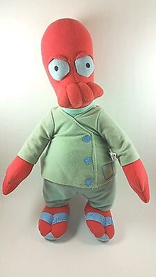 """Futurama Dr.zoidberg From 2014 New By Toy Factory 15"""" New No Tag"""
