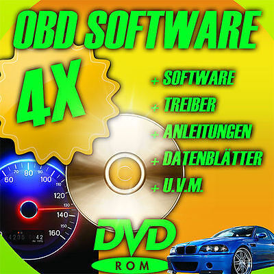 Diagnose Software OBD Chiptuning Airbag Tacho BMW Audi VW Benz Skoda Seat Ford